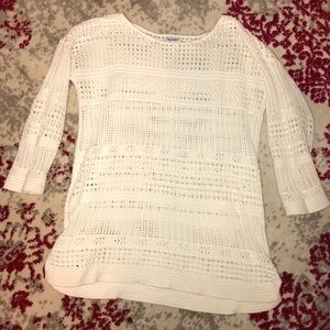 White old navy sweater, Size L