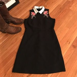 Oasis embroidered dress