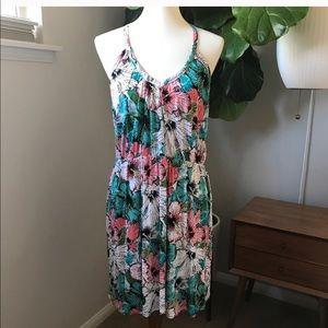 H&M Floral sun dress Size Large