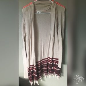 Forever21 Open front cardigan size 2x