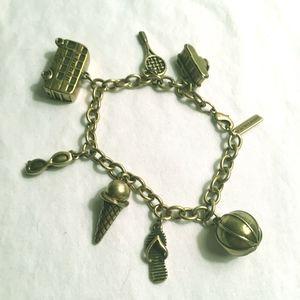 Jewelmint London Charm Bracelet NWOT