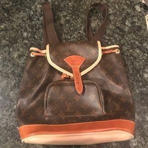 Louis Vuitton small backpack