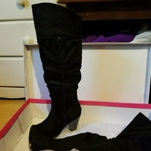 Just fab NWOT, NEVER WORN boots
