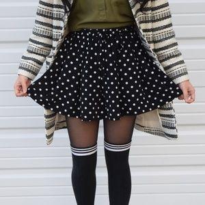 Forever 21 Women's Polka Dot Circle Skirt Size S