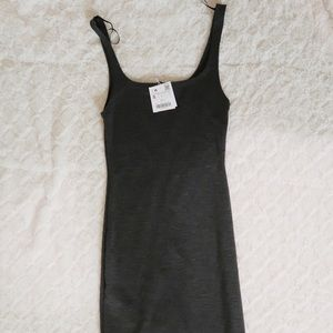 Zara midi bodycon dress
