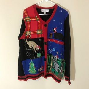 Kitty Christmas sweater