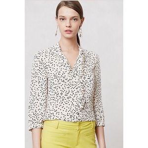 Anthropolgie HD in Paris | Ruffled Picea blouse