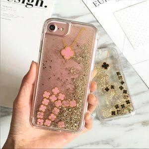 Liquid clover iPhone 7 plus case