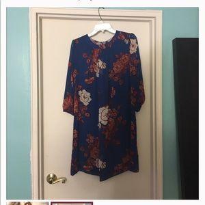 Floral Eva Mendez dress Sz 10