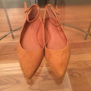 Madewell Amber Brown Ankle Skimmer