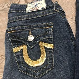 True Religion High Rise Boot Denim Jeans