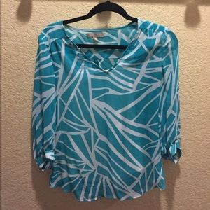 Banana republic blues XS with 3/4 sleeves and cami