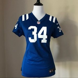 NIKE Official NFL Indianapolis Colts Jersey #34