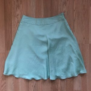 The Limited Mint Green Fully Lined Circle Skirt