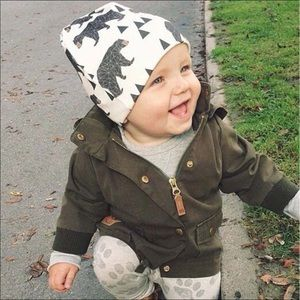 Other - Fall Baby beanie hat