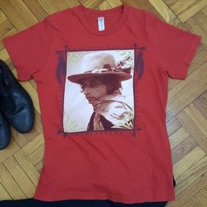 Bob Dylan Rolling Thunder Revue Tour Tee - Small