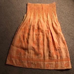 Women's orange dress ( or swim suit cover)