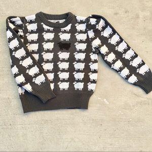 Vintage Unique Black Sheep Sweater