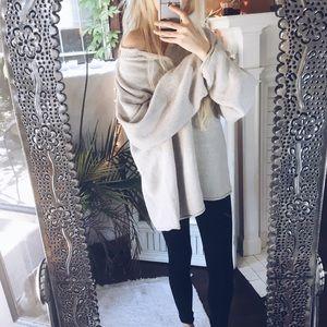 Sweaters - Elle Amindi Button Chunky x Sweater