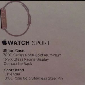 Accessories - 38mm case Apple Watch
