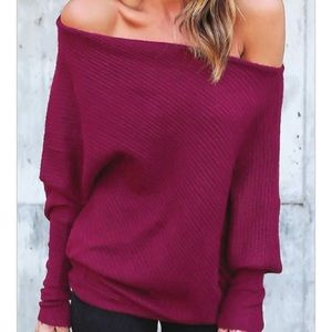 Sweaters - COMING SOON 🆕 Cozy Off the Shoulder Sweater