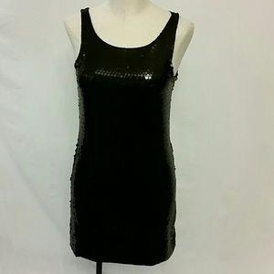 Little black dress sequin black XS S