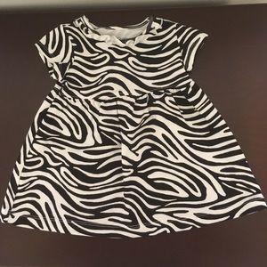 Faded Glory zebra pattern tunic/dress
