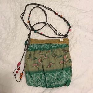 Handbags - Boho sheek cloth satchel