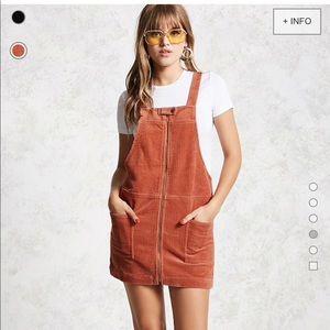 Salmon cordoray dress forever 21 f21