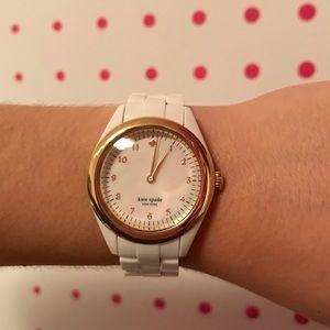 Kate Spade white wrist watch