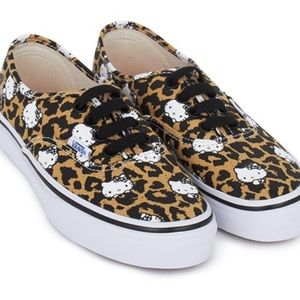 Vans Authentic/Used Hello Kitty Leopard Sneakers