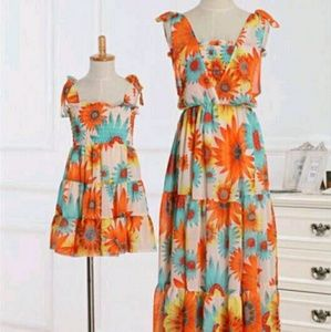Dresses & Skirts - Matching mommy and me dresses.  Price is 4 both!