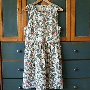 Madewell Sleeveless Floral Dress Size 8