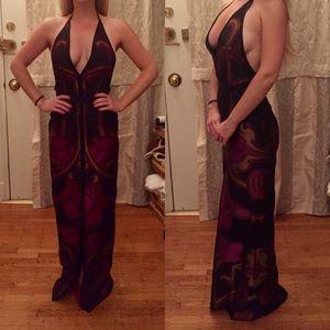 """GUCCI silk """"black tie"""" gown 🔥 🔥 🔥"""