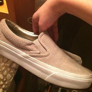 Vans slip on size 6