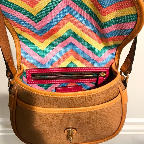 Dooney & Bourke Bags - ✨Dooney & Bourke Tan Claremont Leather Field Bag
