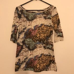 Urban outfitters map tee