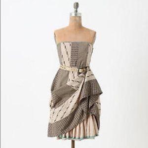 Anthropologie Edme & Esyllte Walk with Me Dress