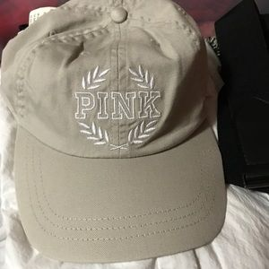 VS PINK khaki Hat