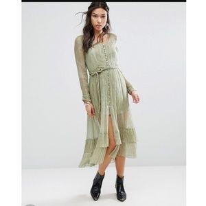 Free People Shine Maxi Short Dress