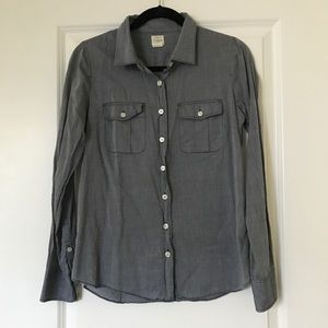 "J. Crew ""The Perfect Shirt"" Size Small"