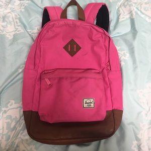 Pink Herschel Backpack