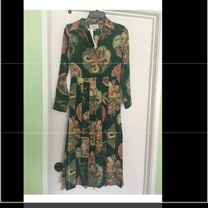 Gucci pleated dress , new authentic, 38IT