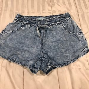 Maurices denim looking shorts