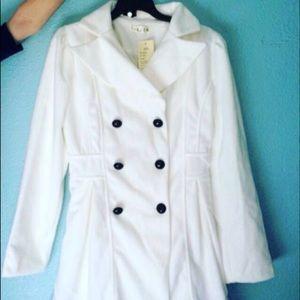 Women woven coat