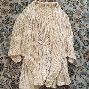 Knitted & Knotted cable knit cardigan