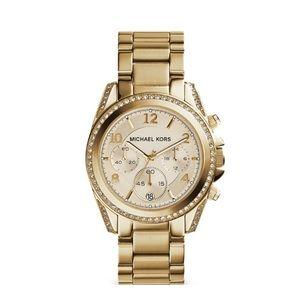 Michael Kors Gold Tone Blair Watch