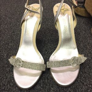 "Jimmy Choo ""Vintage"" collection crystal heels"