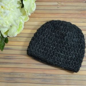 Charcoal Knitted Beanie