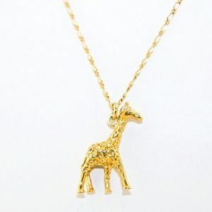 J. Crew Giraffe Necklace